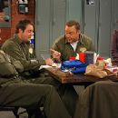Victor Williams, Patton Oswalt and Kevin James on the scene of CBS Television 'The King of Queens