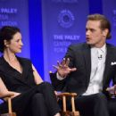 Caitriona Balfe and Sam Heughan-March 12, 2015-Inside the PALEYFEST 'Outlander' Panel