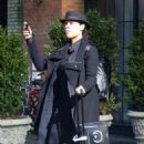 Rosario Dawson – Catching a cab in New York - 454 x 722