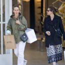 Amanda Peet and Sarah Paulson – Shopping at Zimmermann in West Hollywood - 454 x 524