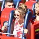 Bella and Gigi Hadid at Disneyland in Anaheim