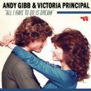 Victoria Principal and Andy Gibb - 394 x 394