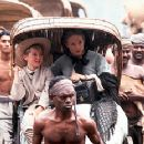 Tom Felton and Jodie Foster make their way to the king's palace in 20th Century Fox's Anna And The King - 12/99