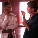 Chow Yun-Fat and director Andy Tennant on the set of 20th Century Fox's Anna And The King - 12/99