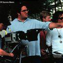 Director Mark Pellington on the set of Arlington Road