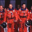 Steve Buscemi, Will Patton, Bruce Willis, Michael Clarke Duncan, Ben Affleck and Owen Wilson in Touchstone's Armageddon - 1998