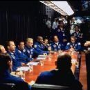 Steve Buscemi, Bruce Willis, Ben Affleck, Owen Wilson, Michael Clarke Duncan,Clark Brolly, William Fichtner, Anthony Guidera, Marshall Teague, Jessica Steen and Billy Bob Thornton in Touchstone's Armageddon - 1998