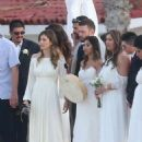 Jessica Biel and Justin Timberlake at her brother wedding in Cabo San Lucas