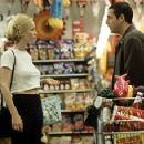 Leslie Mann, a Hooters-waitress turned doctor, argues with Adam Sandler in Big Daddy