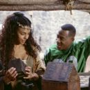 Martin Lawrence as Jamal, a fast-talking con-man who finds himself trying to get up close and personal with Victoria (Marsha Thomason) in 20th Century Fox's Black Knight - 2001