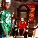 Martin Lawrence as Jamal, a fast-talking con-man who finds himself about to make a strong impression on King Leo (Kevin Conway) and Princess Regina (Jeannette Weegar) in 20th Century Fox's Black Knight - 2001 - 400 x 279