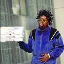 Martin Lawrence, disguised as a pizza man in Blue Streak - 9/99