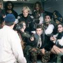 The vigilante gang of cinema terrorists, the Sprocket Holes - (clockwise from top left) - Honey (Melanie Griffith), Lyle (Adrian Grenier), Cecil (Stephen Dorff), Cherish (Alicia Witt), Raven (Maggie Gyllenhaal), Chardonnay (Erika Wickham), Dinah (Harriet - 400 x 275