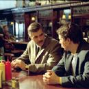 George Clooney and Sam Rockwell in Miramax's Confessions of a Dangerous Mind - 2002
