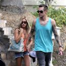 Ashley Tisdale and Christopher French at a Labor Day party in Hollywood (September 1) - 454 x 726