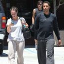 Jennifer Love Hewitt Leaving A Gym In Studio City