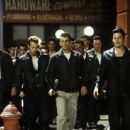 Johnny Knoxville (far left), Balthazar Getty (second from right) and Norman Reedus (far right) in United Artists' Deuces Wild - 2002