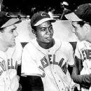 Lou Boudreau, Larry Doby & Hank Greenberg