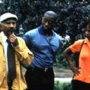 Al Freeman, Jr., Wesley Snipes and Alfre Woodard in Down In The Delta