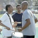 Nick Cannon, Leonard Roberts and Orlando Jones in 20th Century Fox's Drumline - 2002