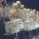 The drumline takes aim at the competition during the Big Southern Classic in 20th Century Fox's Drumline - 2002