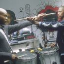 Leonard Roberts and Nick Cannon in 20th Century Fox's Drumline - 2002
