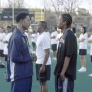 Orlando Jones and Nick Cannon in 20th Century Fox's Drumline - 2002