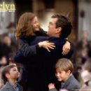 Pierce Brosnan as Desmond Doyle, getting to see his daughter Evelyn (Sophie Vavasseur) and sons Dermot (Niall Beagan) and Maurice (Hugh McDonagh) in MGM's Evelyn - 2002 - 454 x 340