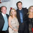 Frank Gifford, Kathie Lee Gifford, Cassidy Gifford and Cody Gifford at the