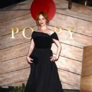 Christina Hendericks at Poppy for a Golden Globes After Party in LA