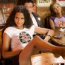 Sydney Tamiia Poitier is Jungle Julia in Quentin Tarantino's Death Proof (Grindhouse). Photo by: Andrew Cooper. Courtesy of Dimension Films. - 454 x 302