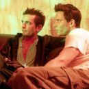 Vince Riverside (left) as Anthony Mitchell and Denny Kirkwood (right) as Colin Turner in Sony Pictures Classics' Groove - 2000 - 400 x 269