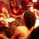 Hamish Linklater (left) as David Turner and Lola Glaudini (right) as Leyla Heydel in Sony Pictures Classics' Groove - 2000