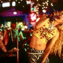 Stephen Trask, Rob Campbell and John Cameron Mitchell in Fine Line's Hedwig and The Angry Inch - 2001 - 400 x 270