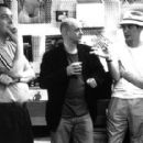 Director Stephen Frears, novelist Nick Hornby and D.V. DeVincentis, who adapted Hornby's novel into the screenplay for Touchstone's High Fidelity - 2000