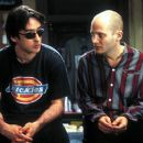 John Cusack as Rob Gordon and Todd Louiso as Dick in Touchstone's High Fidelity - 2000