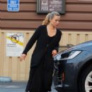 Kristen Bell in Black Outfit – Out in Los Angeles