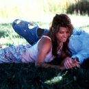 Marisa Tomei and Nick Stahl in Miramax's In The Bedroom - 2001