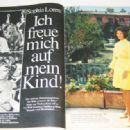 Sophia Loren - Bunte Magazine Pictorial [Austria] (31 July 1968)