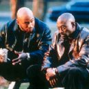 LL Cool J and Omar Epps in In Too Deep - 8/99