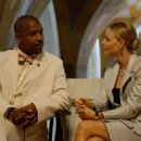 Denzel Washington (Keith Frazier) and Jodie Foster (Madeliene White) in Universal Pictures' drama Inside Man - 2006