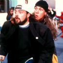 Kevin Smith as Silent Bob and Jason Mewes as Jay in Dimension's Jay and Silent Bob Strike Back - 2001