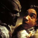 Jonathan Breck as The Creeper and Justin Long in United Artists' Jeepers Creepers - 2001