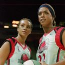 Vivica A. Fox and Miguel A. Nunez Jr. in Juwanna Mann - 2002