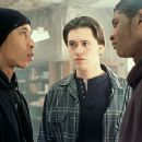 Fredro Starr, Clifton Collins Jr. and Usher Raymond in Light It Up - 11/99