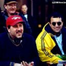 Director Steven Brill and producer Jack Giarraputo in New Line's Little Nicky - 2000 - 400 x 267