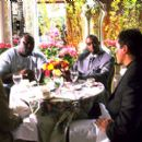 Vince Vaughn, Faizon Love, Sean Combs and Jon Favreau in Artisan's Made - 2001