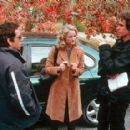 Ben Stiller, Teri Polo and director Jay Roach on the set of Universal's Meet The Parents - 2000