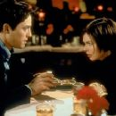 Hugh Grant and Jeanne Tripplehorn in Mickey Blue Eyes