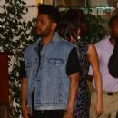 Selena Gomez and The Weeknd Leaving the Sunset Tower hotel in LA - 454 x 526